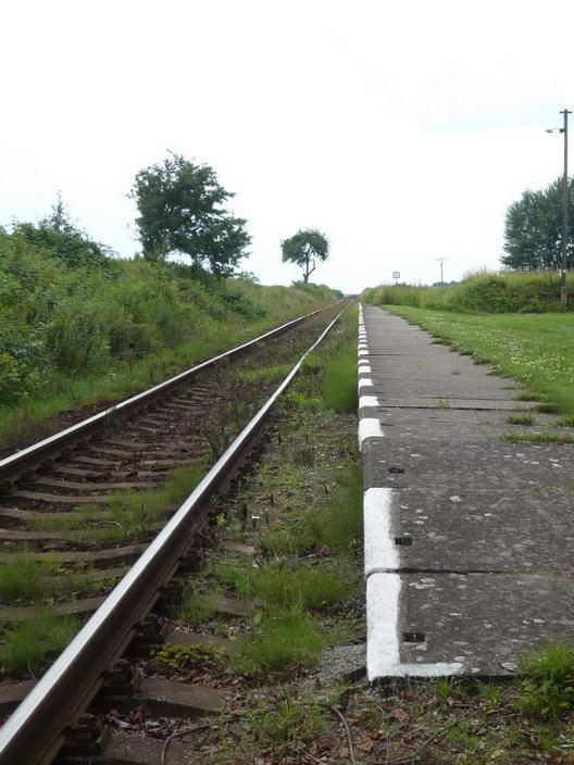 Vlaková zastávka Libošovice